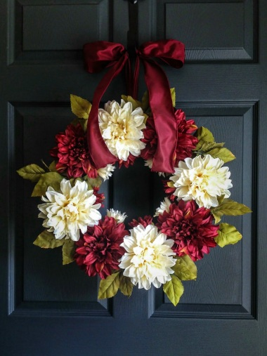 Christmas Wreath Homehearthgarden